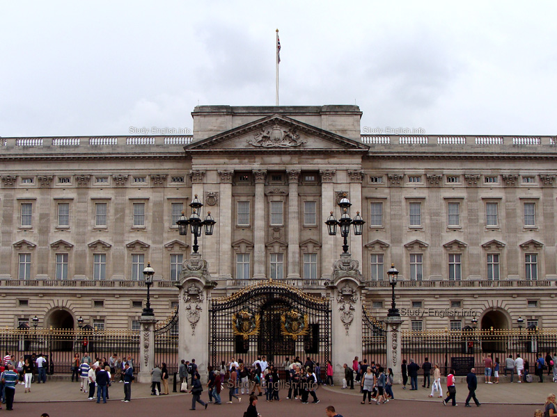 Букингемский дворец buckingham palace